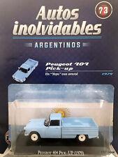 Peugeot 404 Pick Up (1979) Diecast 1:43 Autos Inolvidables Argentina w/magazine