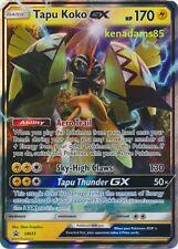 Pokemon Sun & Moon TCG Tapu Koko GX Ultra Rare Black Star Promo Card SM33