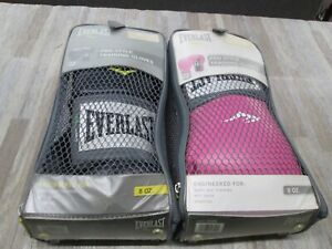 2PACKS Everlast Boxing Pro Style Training Gloves  8 OZ. 2508W 2308Y NEW