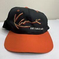 Vintage Karl Kani Jeans Hat Snapback Baseball Cap Signature 90s Rap Hip Hop