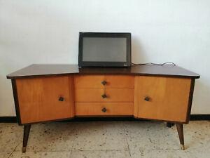 Mid Century Sideboard Vintage Kommode Lowboard Fernsehrschrank