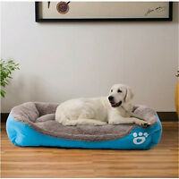 Pet Dog Cat Bed Puppy Cushion House Soft Warm Kennel Mat Pad Washable UK Stock#