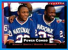 1993 Pro Set Power Combo BARRY SANDERS  EMMITT SMITH (ex-mt)