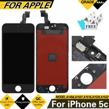 For iPhone 5C Black Display LCD Touch Screen Digitizer Assembly Replacement UK