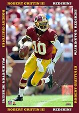 Robert Griffin Iii, Washington Redskins, Wall Picture 53c, Canvas, Nfl Football