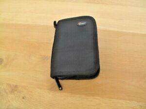 Lowepro Compact Flash memory card wallet-ballistic Nylon-zippered