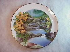 "Wild Honeysickle - Wildflowers of the South 9 1/4"" Approx Collector Plate A-2294"