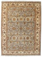 Hand Knotted Wool Area Rugs Floral Hinduza Oriental Vintage Indian carpet  5'X8'