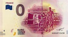 BILLET 0 EURO SOUVENIR   TOURISTIQUE  FRANCE CHAMPION DU MONDE  2018-2 FR