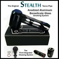The Original Stealth Tobacco Pipe,Stone, Wood,& Glass Metal Smoking Pipe