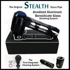 The Original Stealth Tecno Pipe  Tobacco ,Stone, Wood,& Glass Alternative, Metal