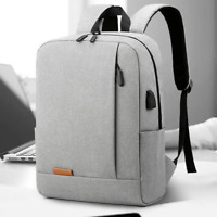 "15.6""New Mens Canvas School Backpack Casual Notebook Travel Laptop Bag 2021"