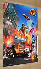 1997 Nintendo N64 Star Fox 64 aka Lylat Wars / Blast Corps Retro Poster 42x28cm