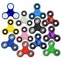Finger Fidget Spinner Steel Tri Bearing Hand Focus Stress Toy Novelty Game