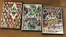Sims 3 (Windows, MAC/2009) w/ 2 expansion Packs : Ambition & Generations Video