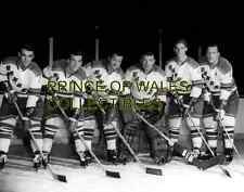 Gendron, Henri, Harvey, Worsley, Ratelle & Langlois 8X10 PHOTO