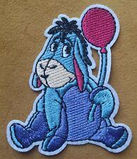 Eeeyore Iron On Quality Patch Winnie The Pooh Cartoon Donkey Cartoon Sleepy