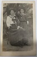 RPPC 1904-1918 Mother And Daughter At Cambells In Miller South Dakota