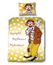Parure de Lit Enfant Pipo le Clown Set Housse Coussin pour Tête Couette