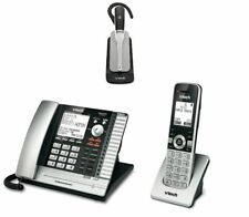 Vtech 4 Line Corded & Cordless Office Business Phone System with 500ft Headset