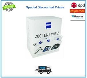 5-400 Zeiss Wipes Lens Pre Moist Glasses Individual Sachets Glass Cleaner Wipes