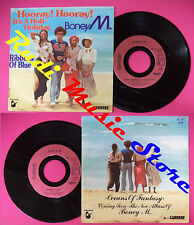 LP 45 7'' BONEY M Hooray it's a holi-holiday Ribbons of blue 1979 no cd mc dvd