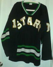 Stars Hockey Jersey Men's Sz Xl Green Black White