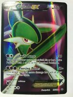 Gallade EX FULL ART ULTRA RARE 99/108 XY Roaring Skies Pokemon Card NM HOLO