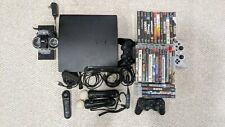 PS3 Slim 160GB + Controllers (Move) + Games
