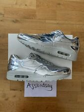 NIKE AIR MAX 1 SP LIQUID SILVER UK9.5 US10.5 BRAND NEW 100% AUTHENTIC