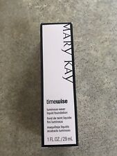 Mary Kay Timewise Luminous-Wear Liquid Foundation Bronze 8 New In Box