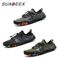 Mens Barefoot Water Shoes Outdoor Surf Beach Climbing Breathable Athletic Shoes