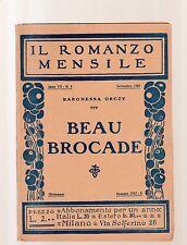 baronessa orczy -  beau brocade -  1942 -