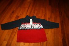 Adorable warm 24 month boys fleece pull over NWT MSRP $32.00
