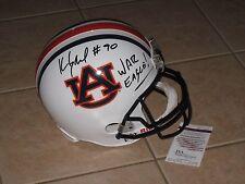 Kevin Greene #90 signed Auburn Tigers Full Size Helmet JSA Witness Inscribed