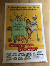 Carry On Doctor Original US 1-Sheet