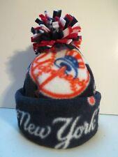 NEW YORK YANKEES BABY HAT HANDCRAFTED newborn BEANIE CAP FLEECE MLB