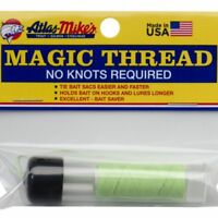 Atlas Magic Thread w/ Dispenser 100 feet Trout Bait Sac Tying Thread Material