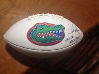 Urban Meyer Signed Florida Gators Football UF Legend!