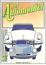 1985 HET AUTOMOBIEL MAGAZIN 67 HUMBER SUPER SNIPE 74 JAREN OPEL DS19 CITROEN