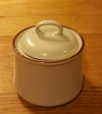 SUGAR DISH WITH LID STONEWARE