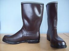 Boots Viking Rugg Rubber Work Boots Hunting Boots Brown Size 14 New with Tags