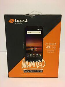 """BRAND NEW BOOST MOBILE ZTE TEMPO X PREPAID SMARTPHONE 5"""" 8GB 4G LTE ANDROID 5MP"""