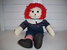Raggedy Andy plush handmade doll