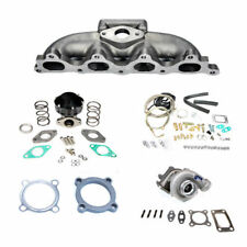 Fits HONDA ACCORD 90-93 F22 .48AR T3 MANIFOLD TURBO CHARGER SET UP KIT