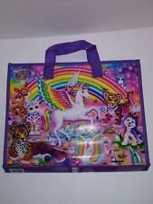 Lisa Frank Unicorn Trifold Portfolio School Binder Folder 10x13