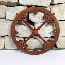 633A  Antik Stallfenster Guss Eisen Fenster Trockenmauer Steine Natursteinmauer