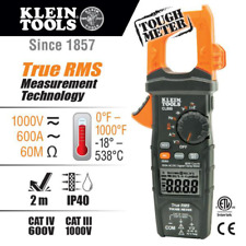 New Listingklein Tools Cl800 Acdc Auto Ranging 600 Amp Digital Clamp Meter