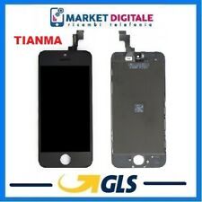 LCD DISPLAY IPHONE SE/5S ORIGINALE TIANMA VETRO TOUCH SCHERMO NERO