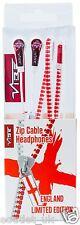 Vibrador de cremallera en la oreja Extreme Bass Auriculares Auriculares Con Cremallera Para Ipod Iphone Mp3 Reproductor